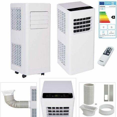"""main image of """"AREBOS Climatiseur Mobile 4en1 Climatiseur 7000BTU Ventilateur Déshumidificateur - Blanc"""""""