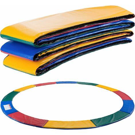 Coussin de protection des ressorts pour trampoline 457 cm multicolore