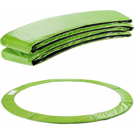 AREBOS Coussin de Protection des Ressorts Pour Trampoline 305 cm vert clair - Hellgrün