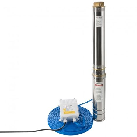 Arebos Deep Well Pump Submersible Water Pump 3.0 hp - 39.63 gpm