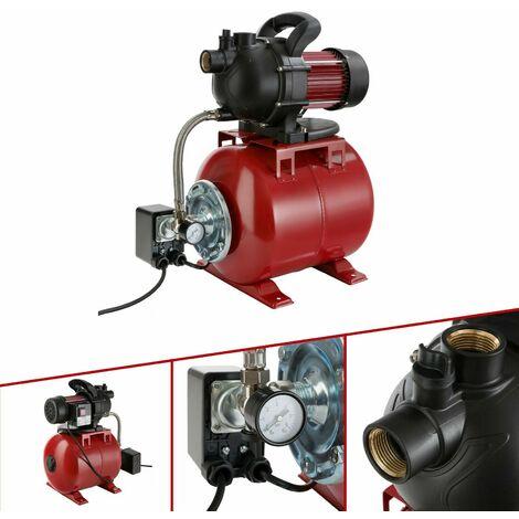 Arebos Domestic Garden Water Pump Waterworks 1000W 3500 l/h
