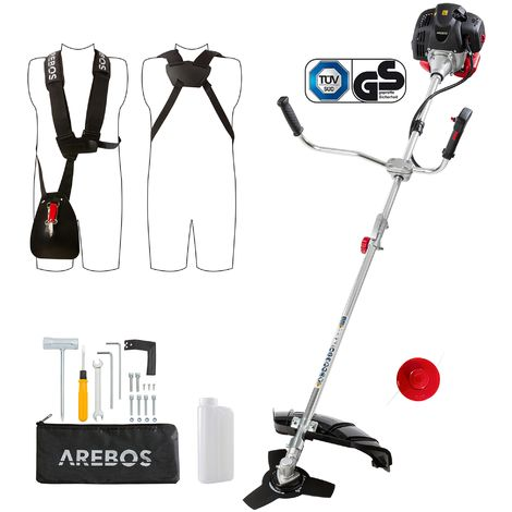 Arebos ECO 2in1 Petrol String trimmer Lawn trimmer