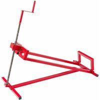 Arebos Elevador de tractocortador tractor cortador dispositivo de elevación elevador