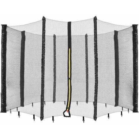Filet de sécurité pour trampoline 305 cm - 8 poteaux