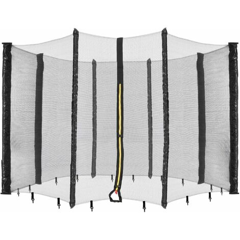 Arebos Filet de sécurité pour trampoline 430 cm