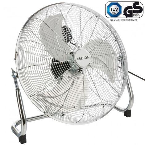 Arebos Floor fan Blower fan 18 inches 120 W
