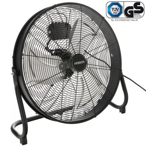 Arebos Floor fan Blower fan 20 inches 120 W