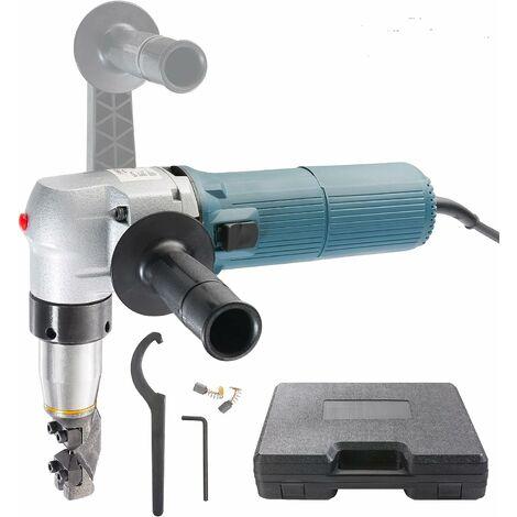 Arebos Grignoteuse à tôle électrique 625 W, 4 mm , GS - bleu