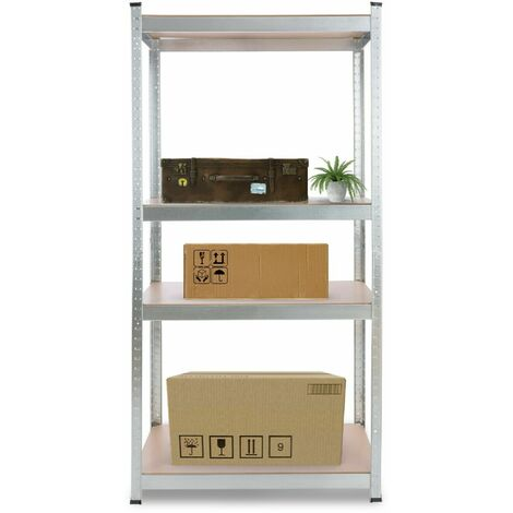 "main image of ""Arebos Heavy duty Shelf Garage Racking Shelf 4 Tier Layer Shelf Storage"""