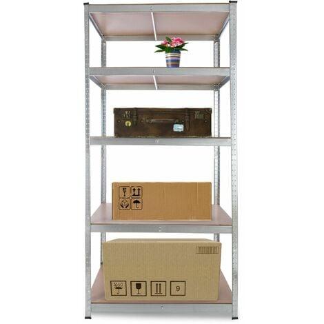 "main image of ""Arebos Heavy duty Shelf Garage Racking Shelf 5 Tier Layer Shelf Storage"""