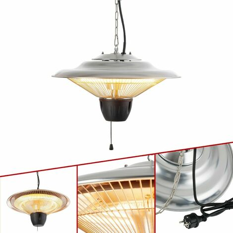 Arebos Infrared Heater Ceiling Mount Radiant Halogen Heater