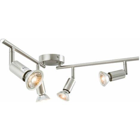 Arebos Lámpara de techo LED con 4 focos 12 W