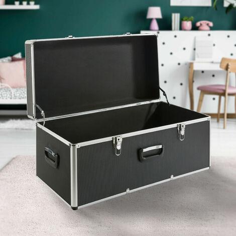 Arebos Maleta de aluminio Maleta para transporte Cajón de almacenamiento