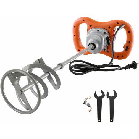 Arebos Mezclador eléctrico de mortero Mezclador de pintura 1600 W