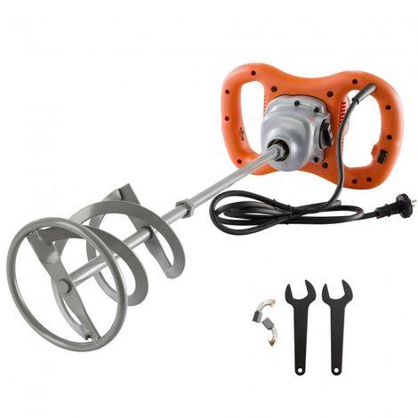 Arebos Mixer Drill Ink Agitator Mortar Stirrer Hand Blender Mortar Mix 1600 W