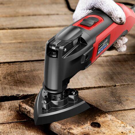 AREBOS Multi-Function Tool Kit Multitool Sawing Scraping Grinding 300W