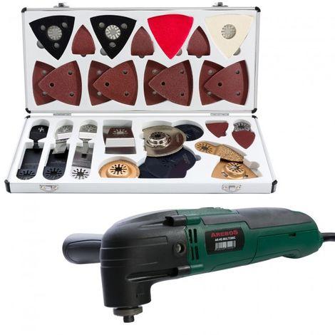 Arebos Multi Tool Oscillating Multi Tool with 100 pcs Multitool blade Set