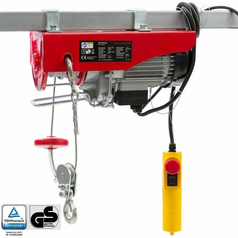 Arebos paranco elettrico verricello elettrico montacarichi for Paranco elettrico 1000 kg