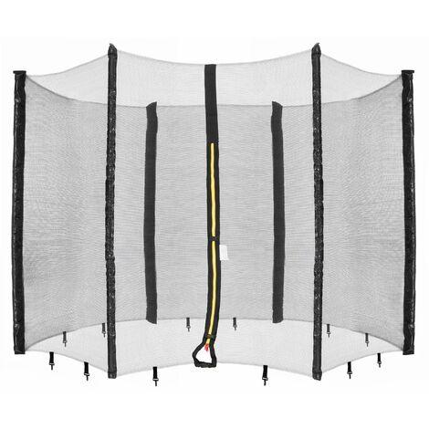 Arebos Red de Seguridad para Camas Elásticas 460 cm