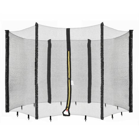 Arebos Safety Net Trampoline Net for 8 Poles 16 feet (490 cm)