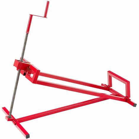 Arebos Sollevatore per trattorini tagliaerba trattorino tagliaerba dispositivo 400 kg