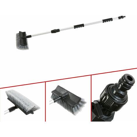 Arebos spazzola lavaggio pulizia telescopico auto 100-170 cm