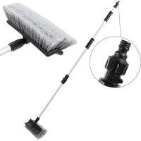 Arebos spazzola lavaggio pulizia telescopico auto 120-200cm