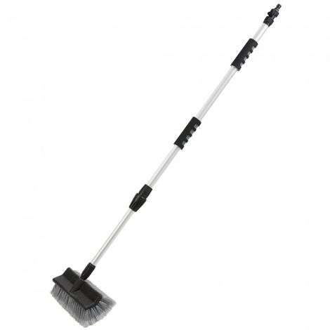 Arebos Telescopic Car Cleaning Washing Brush Boat Van Vehicle 39,37 - 66,93 in