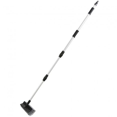 Arebos Telescopic Car Cleaning Washing Brush Boat Van Vehicle 51.18 - 118.1 in