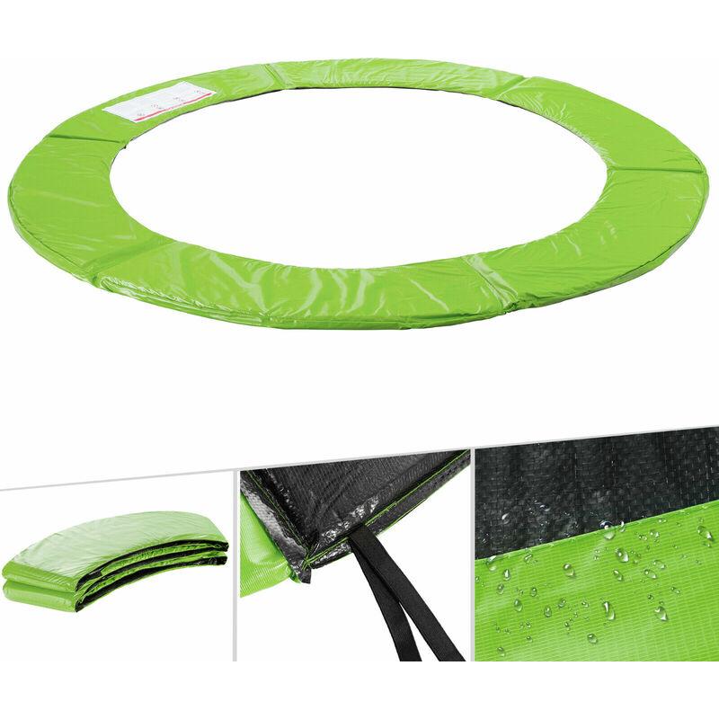 Randabdeckung Schutzpolsterung Abdeckung in grün für Trampolin 487 bis 490 cm
