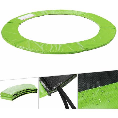 Arebos Trampolin Randabdeckung Umrandung Randschutz Federabdeckung 183 - 487 cm Hellgrün