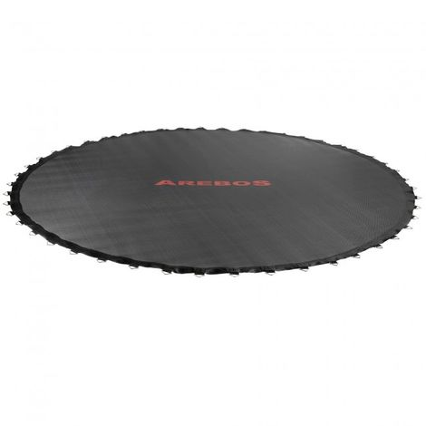 AREBOS Trampoline Jumping mat Ø 385cm for trampolines with 430cm diameter, 80 eyelets, 135mm spring size