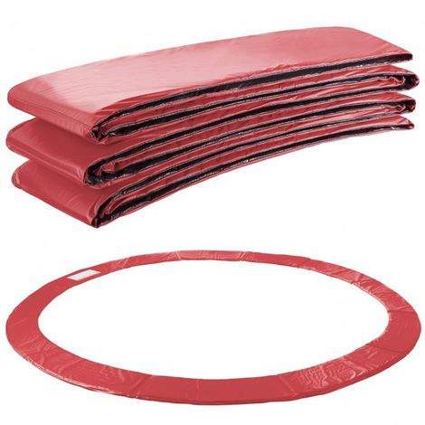 Arebos Trampoline Safety Pads Cover Padding 13ft red