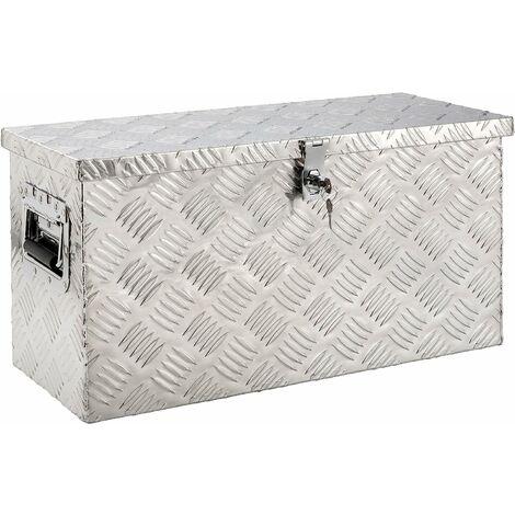 Arebos Truckbox caja aluminio caja herramientas alu maleta