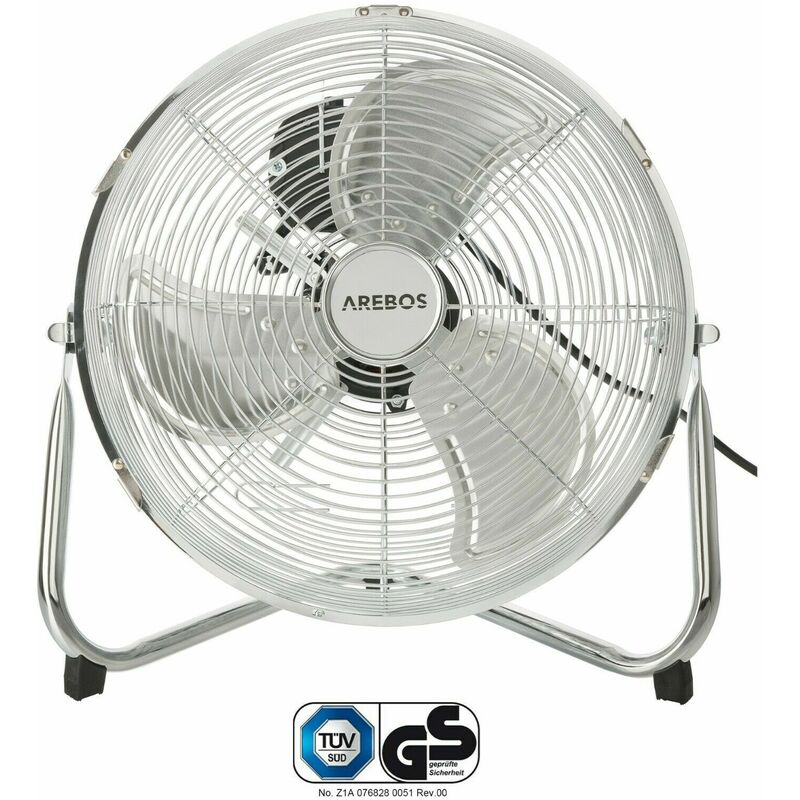 AREBOS Ventilatore da pavimento Ventilatore a getto Ventilatore 12 pollici 55 W