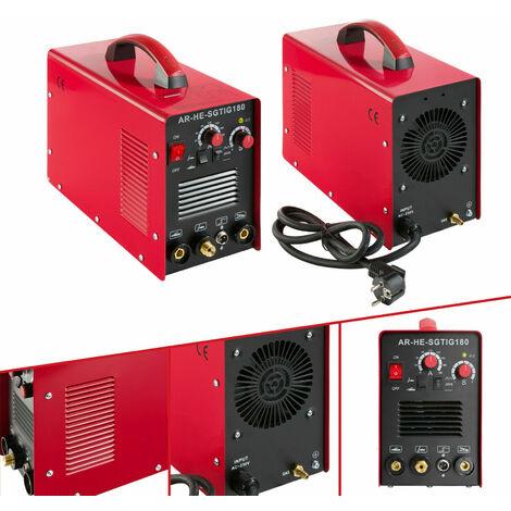 Arebos Welding Machine TIG / WIG 10- 180 A Inverter Welder Portable HF Ignition