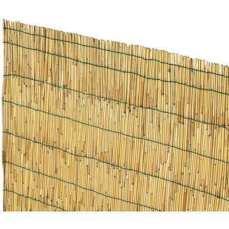 Coperture Per Recinzioni Giardino.Arella Arelle In Canna Bambu Stuoia Ombreggiante Cm 200x300 Cm 2x3
