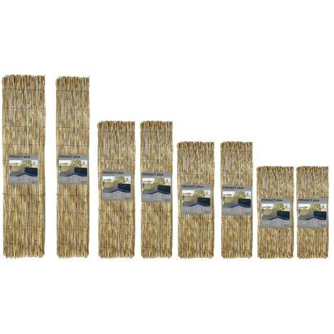 ARELLA PRIVACY Plus © in bamboo CANNICCIO arelle CANNE per RECINZIONE ombra in 7 MISURE