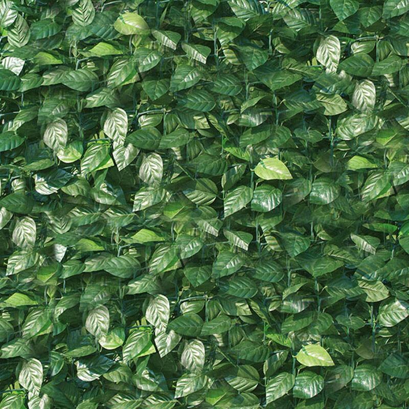 Arella siepe sintetica artificiale 100x300 cm in pvc for Siepe sintetica artificiale