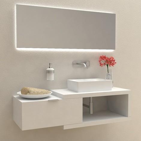 Arena 60 - Mobile completo arredo bagno | Bianco Frassinato ...