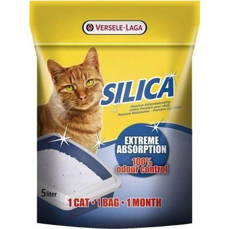 Arena para gatos SILICA VERSELE LAGA 5 kg.