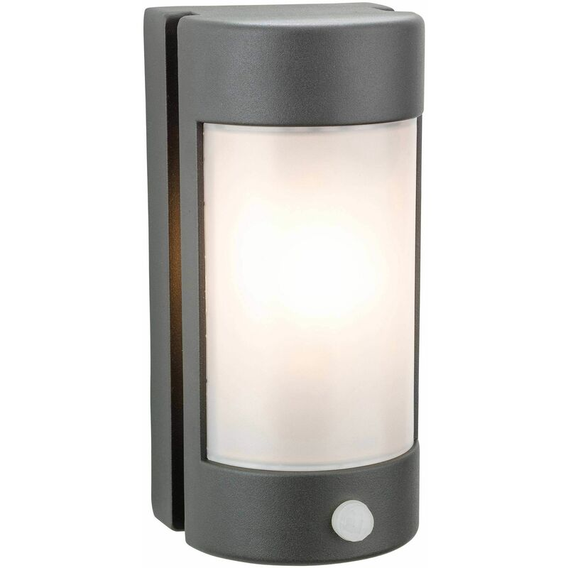 Image of Arena wall light with detector, graphite