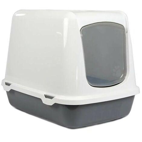 Arenero cubierto para gatos Oscar | Bandeja de arena | Caja de arena WC para gatos
