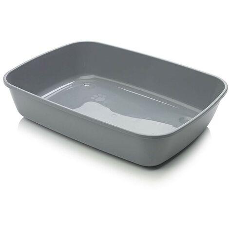 Arenero para gatos Iriz | Bandeja de arena 42 cms | Caja de arena WC para gatos