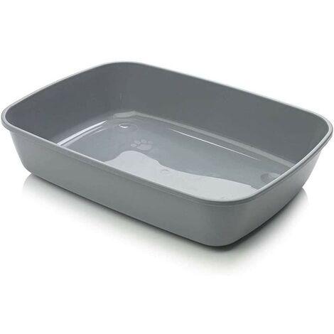 Arenero para gatos Iriz | Bandeja de arena 50 cms | Caja de arena WC para gatos
