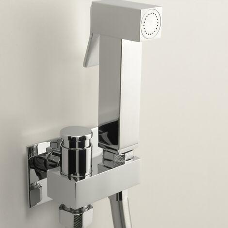 ARES - Douchette Hygiène WC dans une finition chromée et d'un design contemporain. (code 74802)