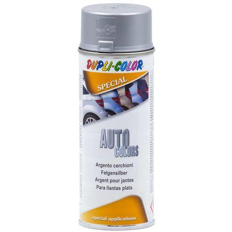 Argent Jantes Spray 400 mL Dupli Couleur
