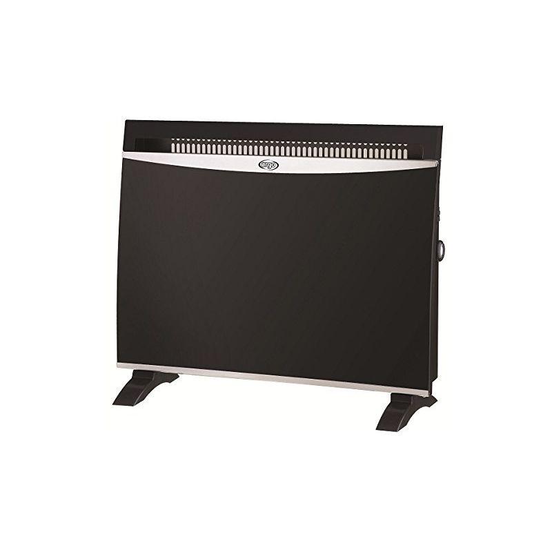 ARGO GLAM Black 1500W Oil electric space heater Electric Space Heaters (Oil electric space heater, Floor,