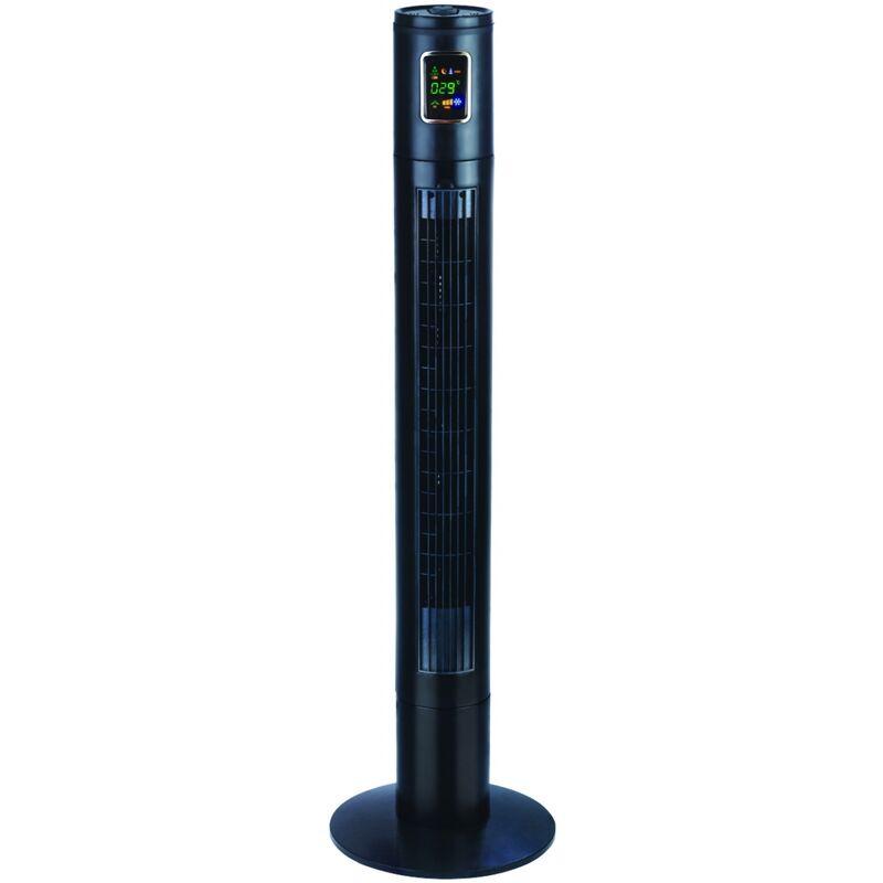 Fanny Tower Ventilatore a torre, 3 funzioni, Timer, Display Led, Nero Argo