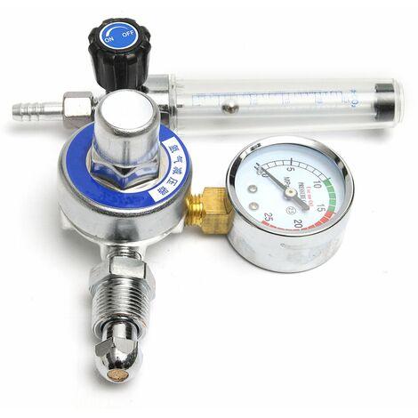 Argon CO2 Gas Mig Tig Flow Meter Reglator Welding Weld Gauge Welder CGA580